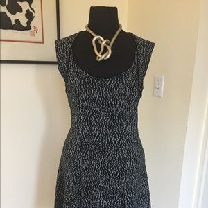 Women's short black dress